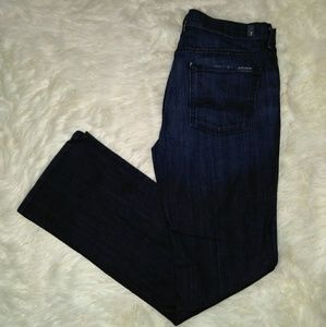 7 For All Mankind Mid Rise Bootcut Denim